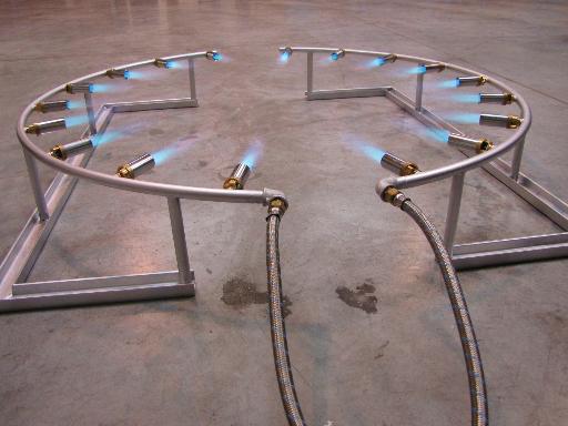 Heating of weld
